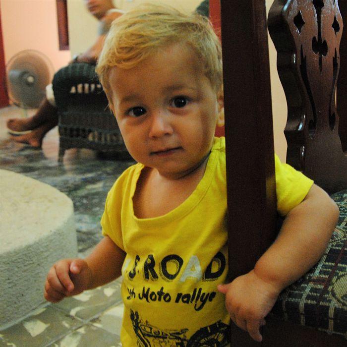 Enfant cubain