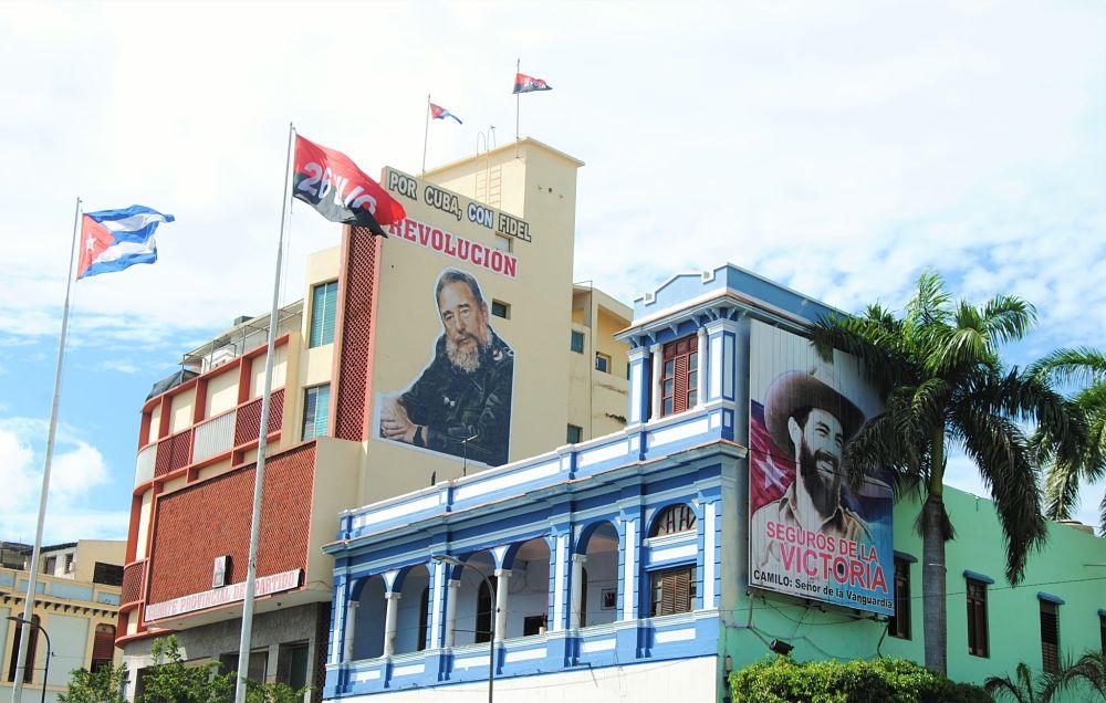 Image de la propagande à Cuba
