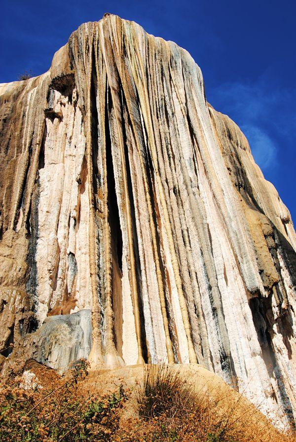 La cascade pétrifiée de Hierve el Agua