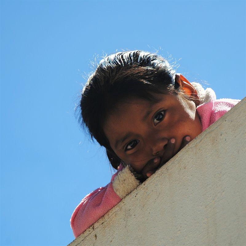 Petite fille Tarahumara