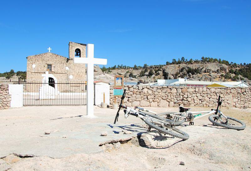 L'eglise de San Ignacio proche de Creel