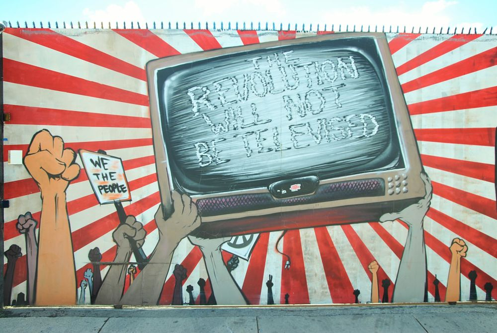 La révolution ne sera pas télévisée