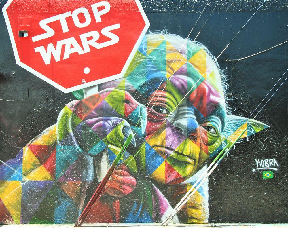 Yoda contre la guerre