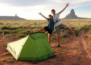 Camping sauvage aux Etats-Unis