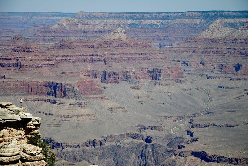 Le gigantesque Grand Canyon
