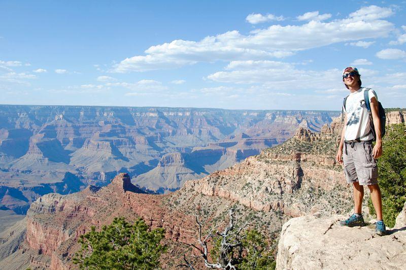 Photographie du Grand Canyon