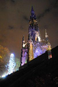 Marché de Noël d'Edimbourg