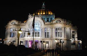 Les Beaux-Arts de la ville de Mexico - Départ de mon itinéraire parfait au Mexique