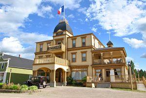 L'hôtel du village historique acadien de Bertrand