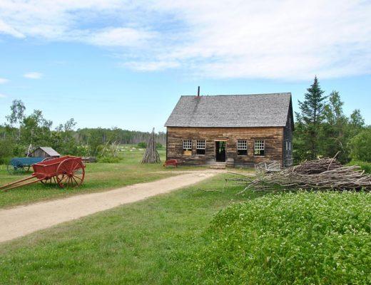 Visiter le Village Historique Acadien de Caraquet