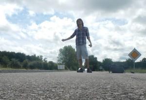 En stop à travers la France