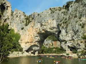 Vallon Pont d'Arc en Canoë