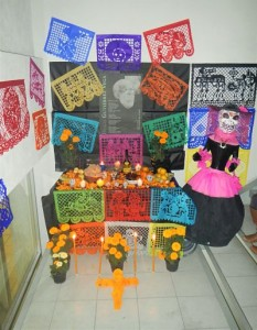 Altar pour le Dia de los Muertos