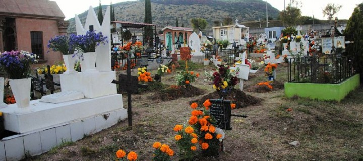 El dia de los Muertos au Mexique