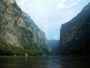 Le canyon de los sumideros à Tuxtla