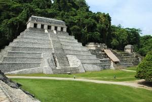 Les ruines Mayas de Palenque au Chiapas