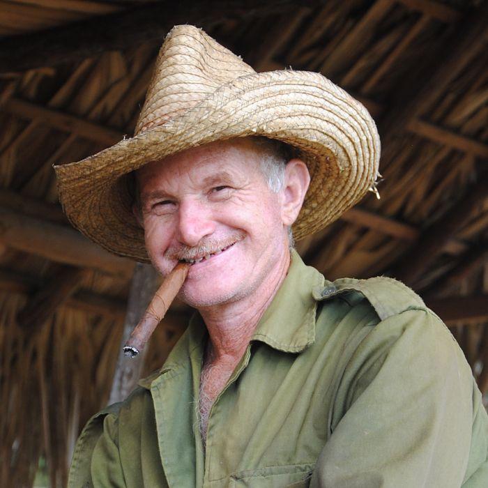 Vieil homme, portraits de Cuba