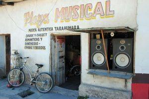 Boutique de musique à Creel
