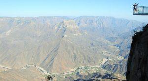 Vue de la Brrancas del Cobre depuis le mirador à Urique