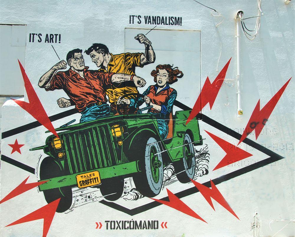 Graffiti art ou vandalisme ?