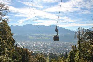 Téléphérique à Innsbruck