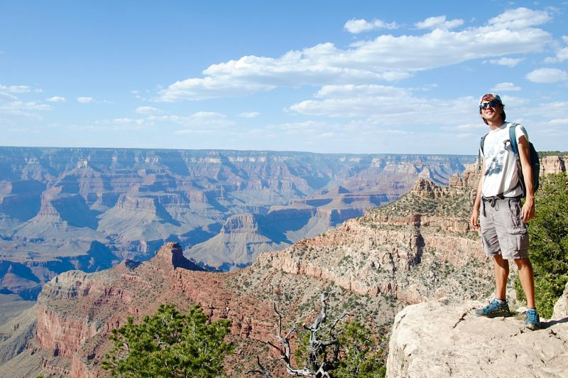 Photographie du Grand Canyon