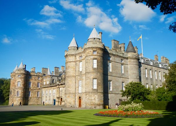Holyrood Palace et le parlement écossais en Ecosse