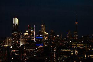 Rooftop à Toronto et la CN Tower