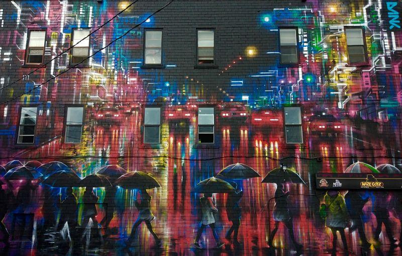 Street art dans les rues de Moncton par Dan Kitchener