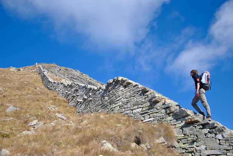 Trekking dans le Tessin jusqu'au Pizzo Bombögn