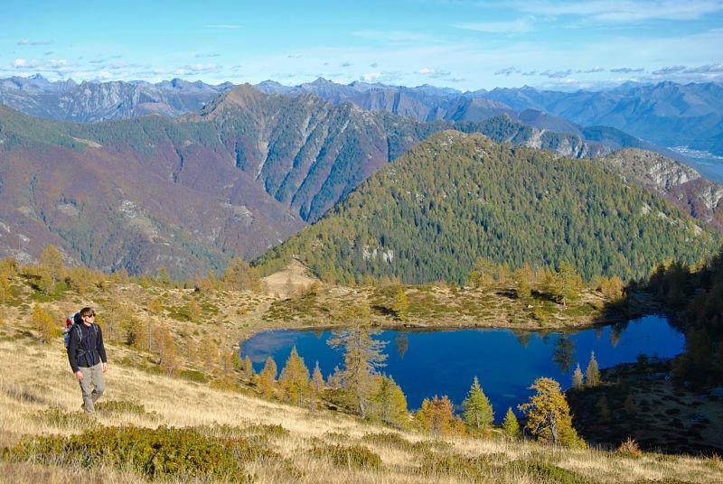Randonnée au lac de Salei dans le Tessin