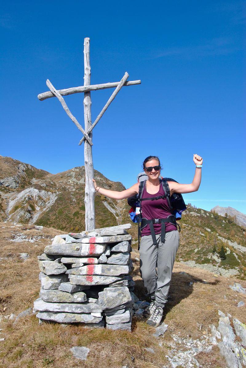 Sommet lors de mon trekking dans le Tessin