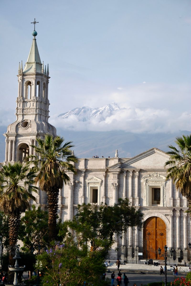 Visite d'Arequipa la ville blanche péruvienne