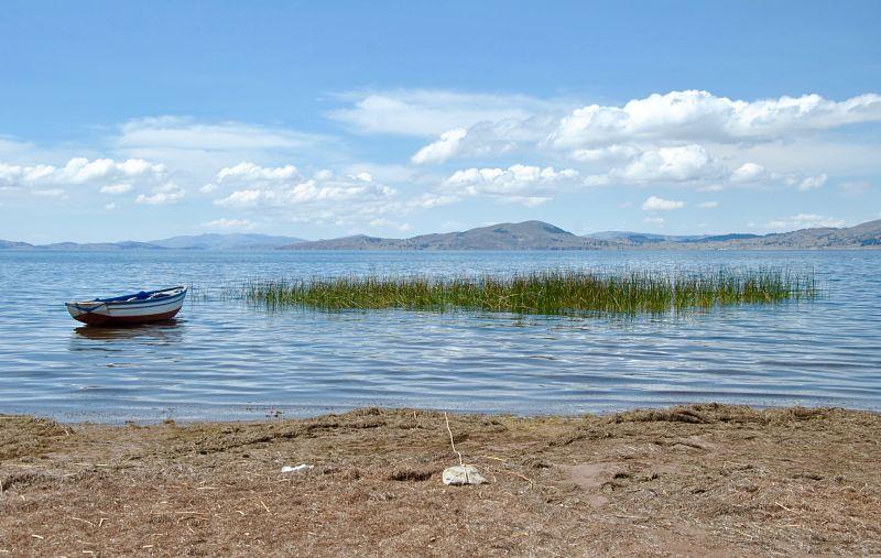 Llachon sur le lac Titicaca au Pérou