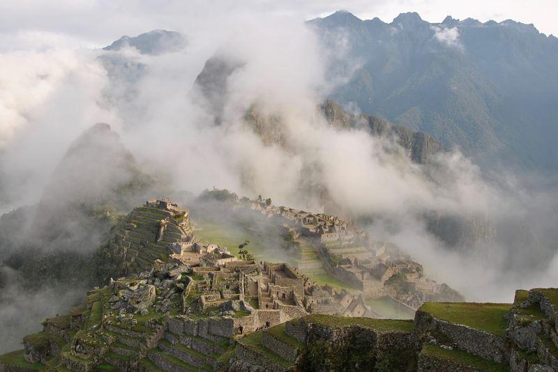Le Machu Picchu au Pérou près de Cusco