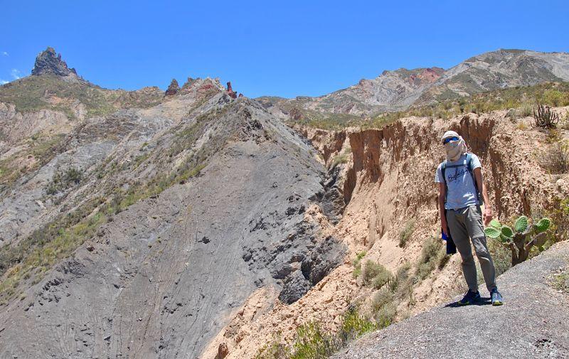 Randonnée à La Paz entre la Valle de la Luna et la Muela del Diablo