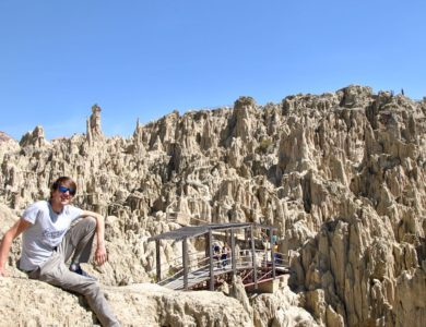 Randonnée à La Paz : de la Valle de la Luna à la Muela del Diablo