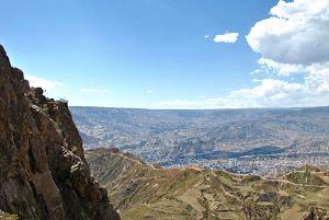 Vue sur La Paz depuis la Muela del Diablo