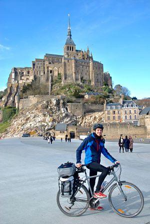 Voyage à vélo de Caen à Rennes en passant par le Mont Saint-Michel