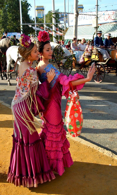 Sport national pendant la Feria : le selfi