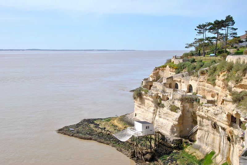 Grotte de Regulus à Meschers lors de mon voyage à vélo de La Rochelle à Bordeaux