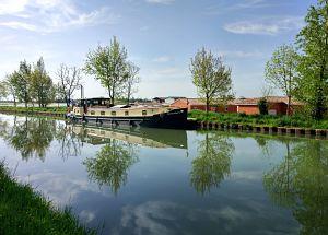 Itinéraire de mon voyage à vélo de Bordeaux à Toulouse le long du canal à la Garonne