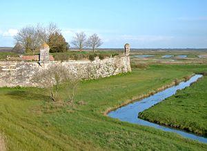 Citadelle de Brouage lors de mon voyage à vélo de La Rochelle à Bordeaux