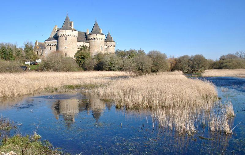 Château de Suscinio dans la partie sud du golfe du Morbihan