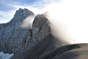 Col de Susanfe sur le tour des Dents du Midi