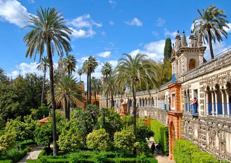 Un incontournable à faire à Séville : l'Alcazar