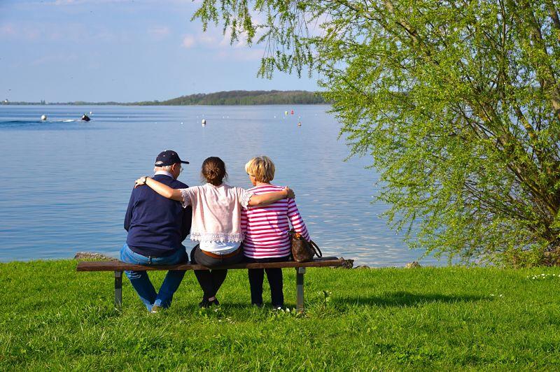 Journée en famille au Lac du Der