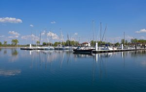 Marina du Lac du Der en Champagne