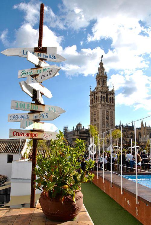 Meilleur rooftop pour sortir à Séville