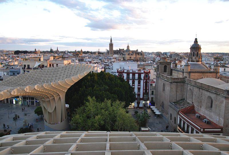 A voir à Séville en 2 jours las Cetas ou Metropol Parasol